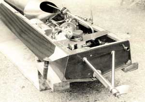 Beebug set up for a test on a water brake